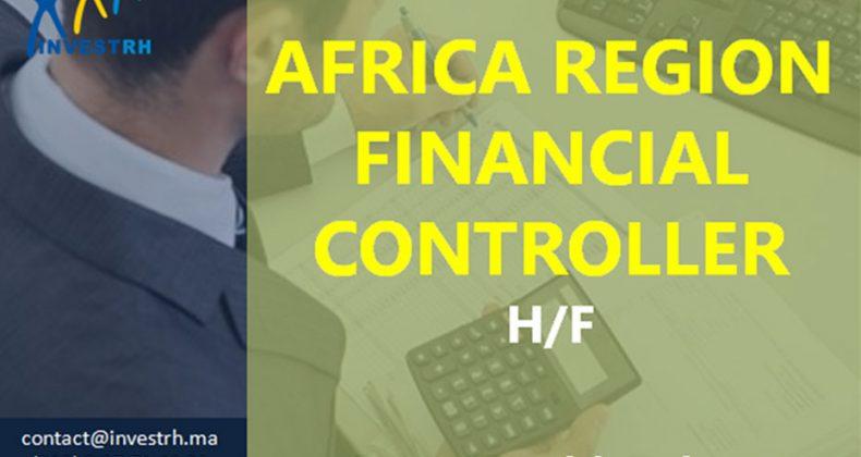 Offre Emploi : AFRICA REGION FINANCIAL CONTROLLER